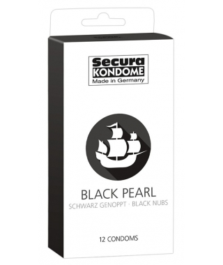 Secura Black Pearl Kondome...