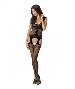 Strumpfhalter-Bodystocking...